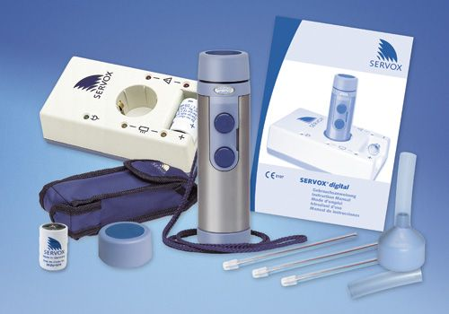 Servox mechanical larynx